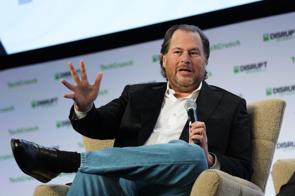 Aandeel Salesforce Marc Benioff Techcrunch